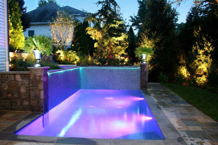 Residential Pool Design Lighting in Atlanta